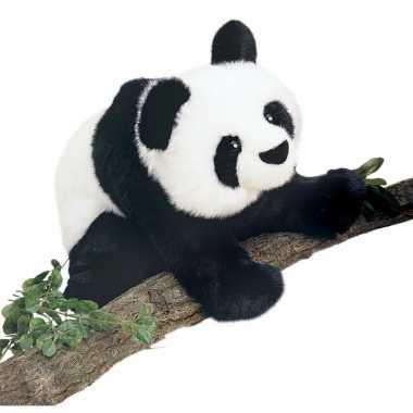 Luxe pluche panda knuffel 38 cm